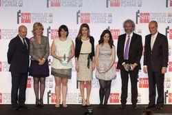 Foto de familia Princesa de Asturias con ganadores